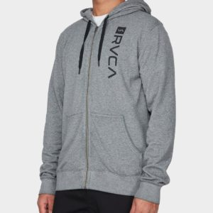 Cage-hoodie-heather-grey-front