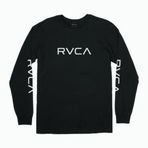Big_RVCA_Long_sleeve_ferfi_hosszu_ujju_polo_fekete