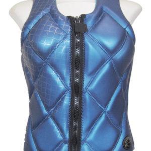 oneill-gem-womens-comp-vest-blue