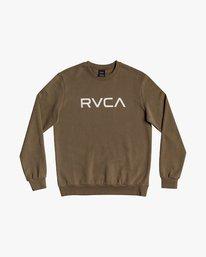 Big_RVCA_crew_olive_ferfi_pulover
