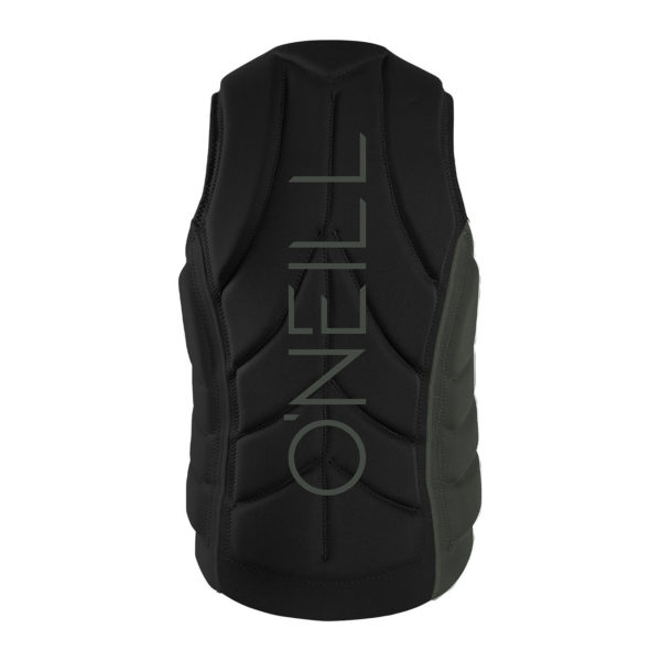 Slasher Comp Vest_darkolive_black_back