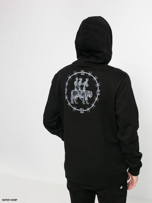1208602 rvca rvca bjj hd hoodie black w1920w