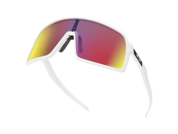 oakley sunglasses sutro matte white prizm road oo9406 0637 5