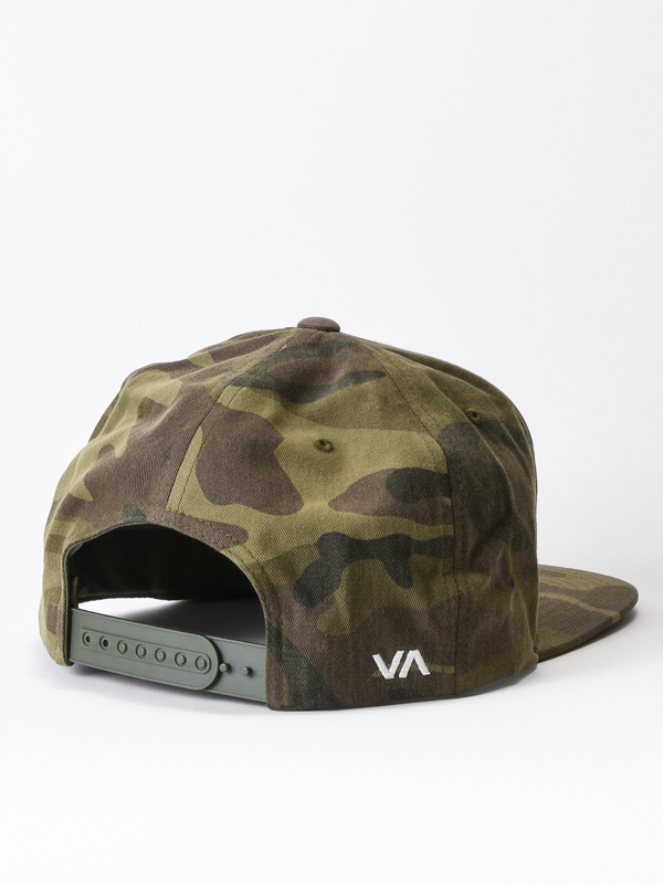 men s hats with straight peak rvca twill iii olive camo 3 thumb 2